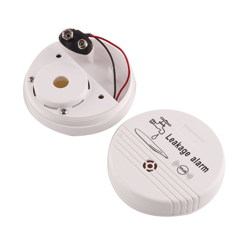 Wireless Water Overflow Leakage Alarm Sensor Detector 90dB ABS Voice Work Alone Water Level Alarm Home Security Alarm System 12