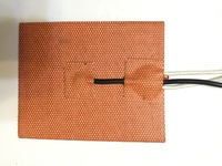 Silicone Heating Pad Heater 12V 200W 200mmx200mm For 3d Printer Heat Bed 1pcs W NTC 100K