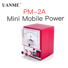 UANME PM-2A DC adjustable voltage regulation mobile phone repair mini power supply 2A current meter 15V30V power voltmeter fast arrival adjustable dc power supply qj2002c single channel 0 20v 0 2a resolution of 10mv 1ma