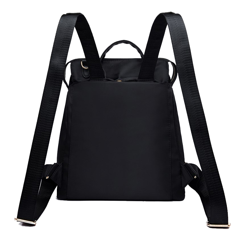 Female Classic Backpack Fashion Design Of Oxford Cloth Soft Bagpack Can Cross The Cross Waterproof Lightweight Casual Bag Solid