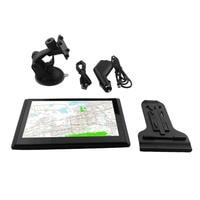 New 7 Inch 8G DDR128M Capacitive Screen GPS Navigator 800 480 HD Portable Car GPS Navigation