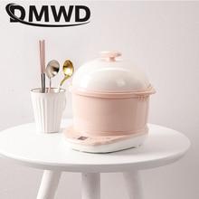 DMWD электрическая Мультиварка 0.8л керамическая кастрюля для тушения воды мини детское питание каша для завтрака тушеный суп бронь Пароварка ЕС