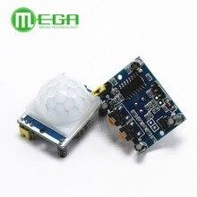 Módulo infrarrojo piroeléctrico IR 20 piezas, azul, HC SR501, módulo Detector de Sensor de movimiento