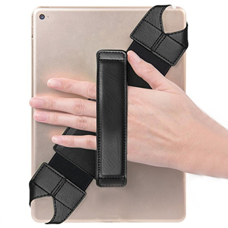 Tablet Security Hand Strap Holder For 6-11inch Pad,hand grip expansion band with 360 rotate Design for bank employees engineers