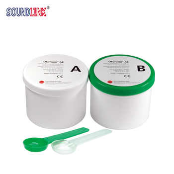 Dreve Ear Impression Material Green & White 35 Shore 800g*2 - DISCOUNT ITEM  9% OFF All Category