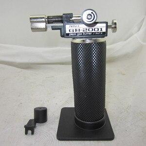 Бесплатная доставка gb2001 Золото Серебро Металл Цельсия тестирование сварочный фонарь, пропановая газовая плавильная горелка зажигалка, пая...