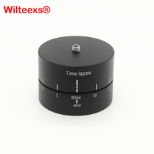 Buy online 360 Degrees Panning Rotating Time Lapse Stabilizer Tripod Adapter for DSLR high quality photography accessories