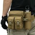 New Outdoor Travel Bags Military Equipment Women Men Waist Bag Packs Water Bottle Holder For Men Nylon Detachable Belt Pouch