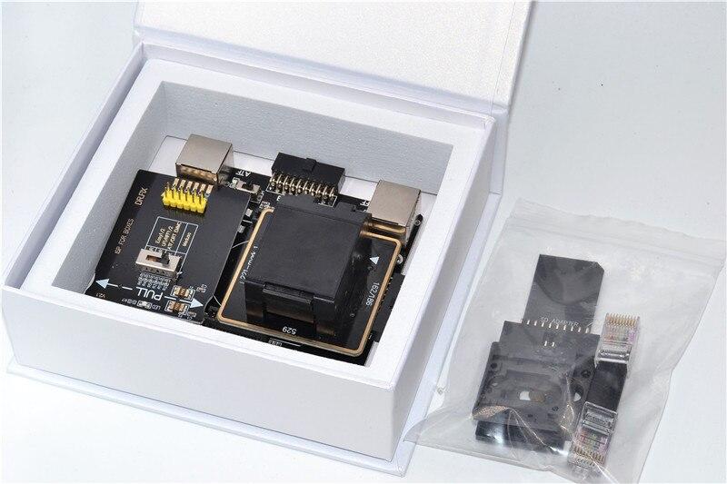 US $128 0 |eMMC 6in1 Adapter Kit for UFI Box RIFF2 Easy Jtag Plus Z3X/eMMC  Pro ISP Programmer to Read Write BGA153/169/221/162/186/529eMMC-in