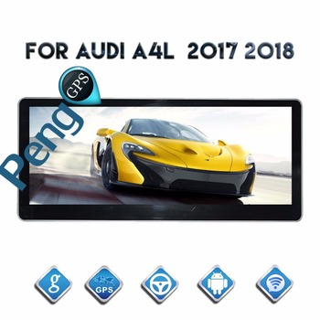 10.25 Inch Quad Core CD DVD Player 2 Din Android System Car Radio for AUDI A4L 2017 2018 GPS Navigation Autoradio Headunit WIFI