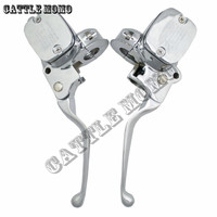Motorcycle Clutch Lever&brake pump Master Cylinder For Harley Softail Deluxe Road King Fat boy breakout