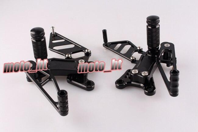 CNC Adjustable Rearset Rear Set Footrest Footpegs For Honda CBR954RR CBR929RR 2002 2003 /CBR 954 929 RR 02 03 waase motorcycle rear wheel hugger fender mudguard mud splash guard for honda cbr954rr cbr 954 rr 2002 2003
