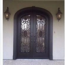 Двери из кованого железа houston кованого железа для защиты дверей