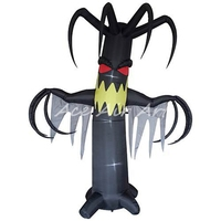 amazed Spooky Ghost Airblown inflatable Tree made by AceAirArt for Halloween decoration