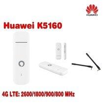 Vodafone K5160 HUAWEI 4G usb dongle 150Mbps Unlocked MODEM Free Shipping plus 2pcs antenna