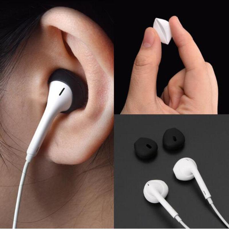 Silicone Earbuds Earphone Case Cover For Apple Airpods Iphone X 8 7 6 Plus 5 Se Earpods Headphone Eartip Ear Cap Tips Earcap Earphone Accessories Aliexpress