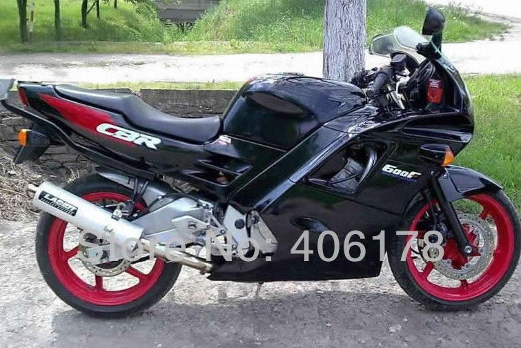 Горячие продаж,дешевые обтекателя CBR 600 F2 с рубля ЦБ РФ 600F2 91 92 93 94 пригодный для Honda CBR600 F2 в 1991-1994 черный мотоцикл Обтекатели