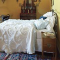 Western Palace Stye Luxury Quilt with Craft Quilting Cotton Bedding Sets Knitted Pure Cotton Duvet Cover Bedsheet Pillowcases