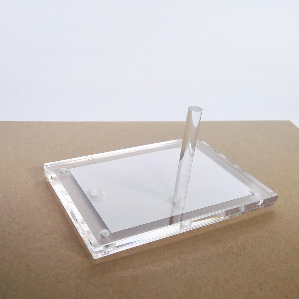 2 einheiten/pack) 3 zoll Klassische Plexiglas Bilderrahmen Halter ...