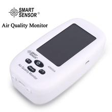 SMART SENSOR Air Quality Monitor Gas Meter PM2.5 HCHO TVOC TEMP Detector Analyzer Handheld Tester Temperature Humidity Testing