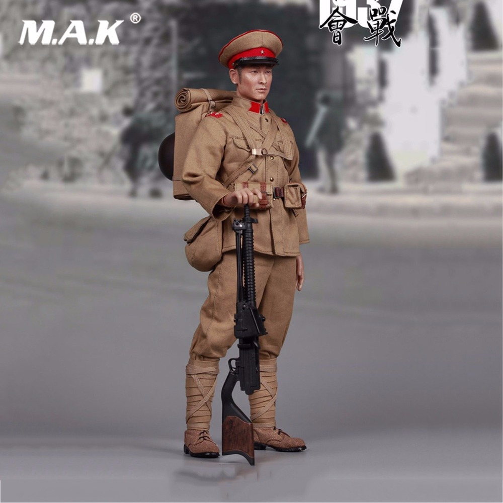 For collection Japanese Army Taisho Type 11 Light Machine Gun Gunner 1/6 Scale Figure 12 Full Set Action Figure zh005 1 6 scale knights of malta ancient medieval action figure soldier type 12 figure body for collection gift