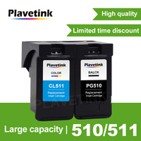 Plavetink PG 510 PG510 PG 510 XL Refillalbe Ink Cartridge Compatible For Canon iP2700 Pixma MP250 MP270 MP280 480 MX320 330
