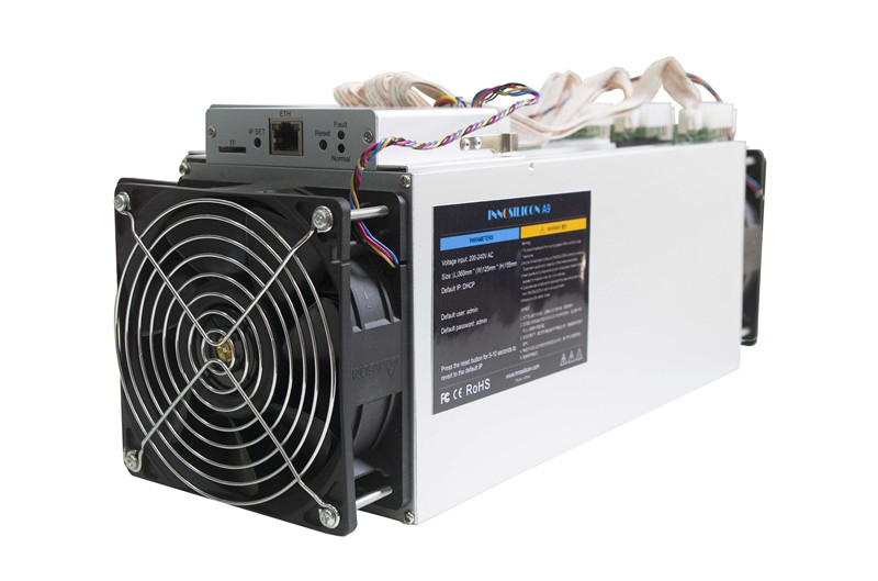 Utilisé Zcash Miner ZCL ZEC BTG Asic Miner Innosilicon A9 ZMaster 50 k sol/s Equihash Miner mieux que 5 pièces Antminer Z9 Mini