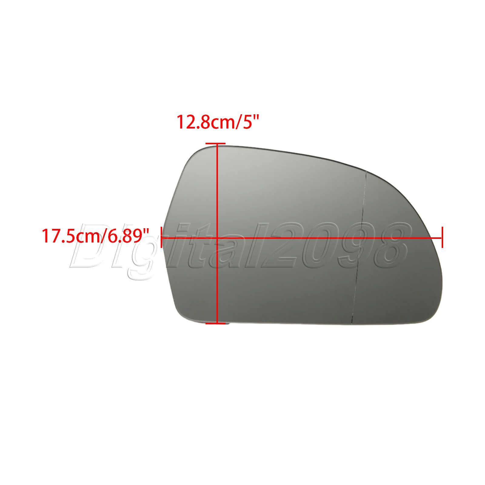 2pcs lr car heated door wing mirror glass rearview side mirrors for 2pcs lr car heated door wing mirror glass rearview side mirrors for audi a3 a4 s4 a5 a6 s6 a8 allroad q3 skoda octavia superb in mirror covers from planetlyrics Image collections