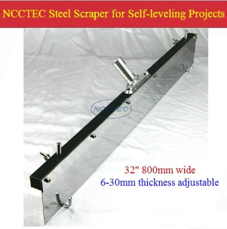 32 800mm Ncctec Flat Leveller Scraper For Self Leveling