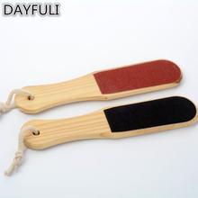 Двухсторонний красный и черный Рашпиль для ног средство удаления