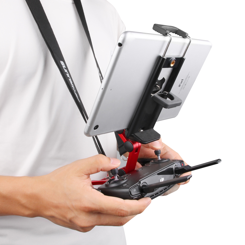 Image 2 - Remote Control Tablet Bracket Monitor Mount Folding Holder for  DJI MAVIC PRO Mini Air Spark Mavic 2 Pro Zoom for IPad MiniDrone  Accessories Kits