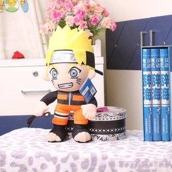 Плюшевая аниме игрушка Наруто с кунаем 30 см 1