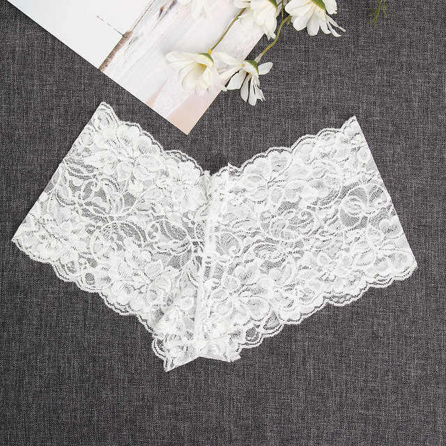 Summer Hot Sale Women Sexy Floral Lace  Lingerie Briefs Panties Thong G-string Knickers High Waist Breathable Underwear Panties