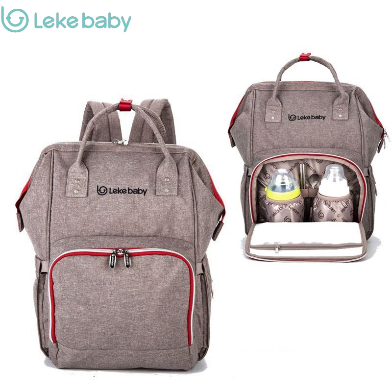 Brand Baby Bag Fashion Nappy Bags Large Diaper Bag Backpack Baby Organizer Maternity Bags For Mother Handbag Baby Nappy Backpack on AliExpress