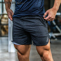 Youndux 2017 New Men Gyms Summer Fitness Sports Shorts Leisure Bodybuilding Workout Male Short Pants Loose