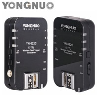 Yongnuo YN622C YN 622C Wireless ETTL HSS 1 8000S Flash Trigger 2 Transceivers For Canon 1100D