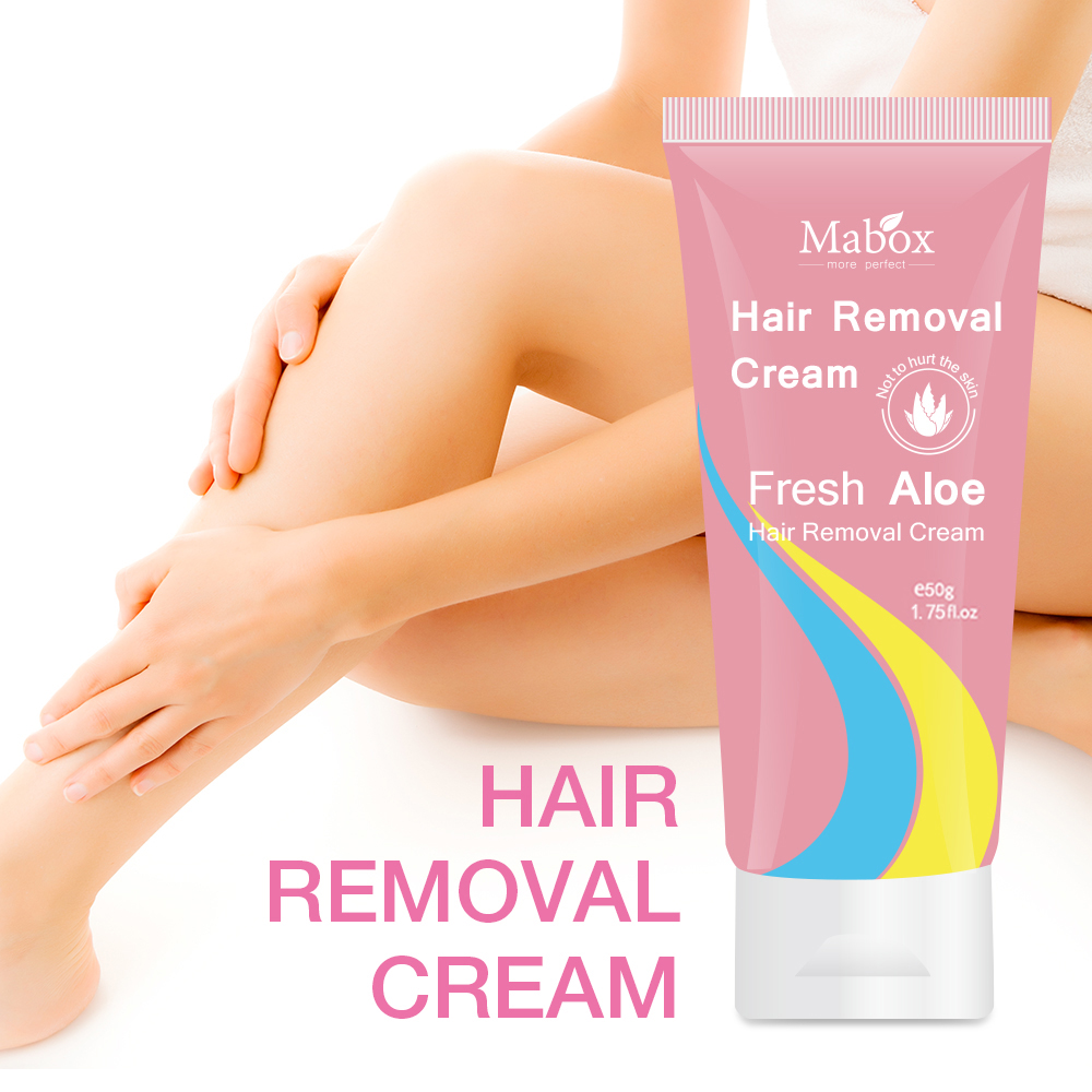 Clear hair loss cream stone hair removal super natural painless hair removal cream soft does not hurt the skin is not irritating in Hair Removal Cream from Beauty Health