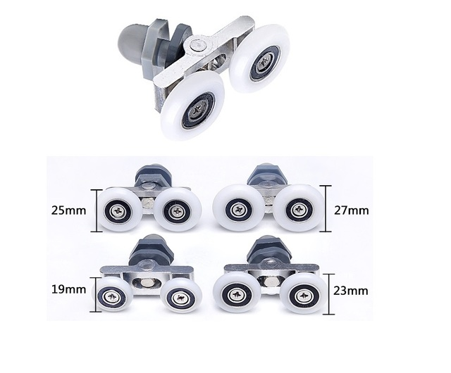 4pcslot sliding glass door swaying roller rollers runner pulley 4pcslot sliding glass door swaying roller rollers runner pulley window shower box door dual planetlyrics Image collections