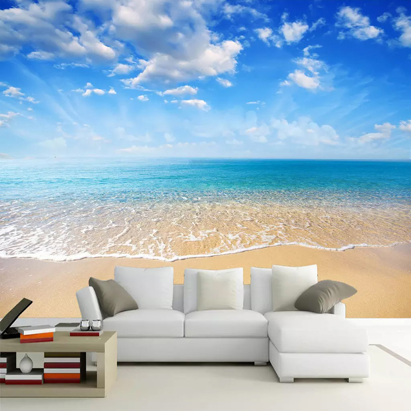3D Wallpaper Modern Seaside Landscape Photo Wall Murals Living Room TV Sofa Bedroom Dining Room Home Decor Wall Papers For Walls