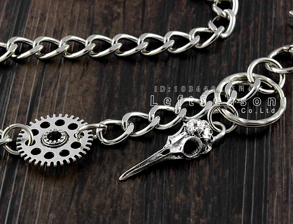 b0e509d24a69 US $12.6 |Steampunk Biker Keychain Metal Wallet Chain For Mens Boy Unisex  YL 94-in Key Chains from Jewelry & Accessories on Aliexpress.com | Alibaba  ...