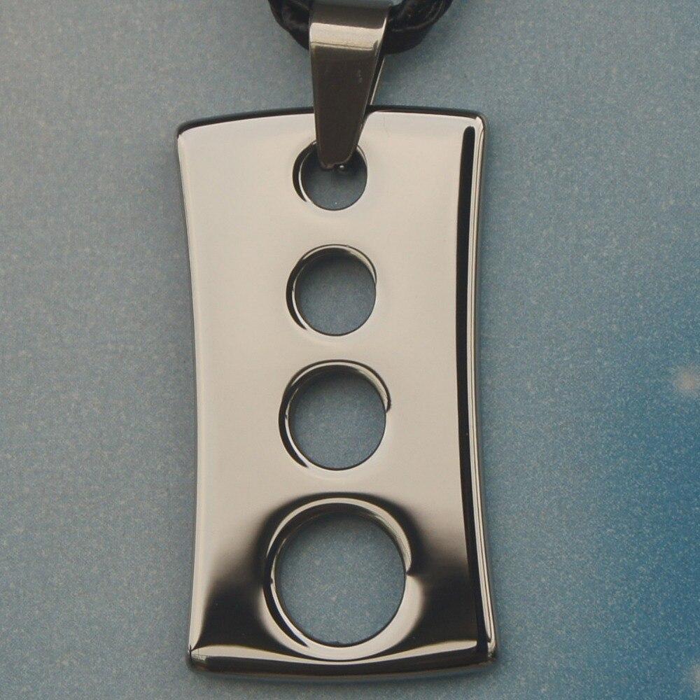 men jewelry sporty hi-tech scratch proof tungsten pendant necklaces & pendants
