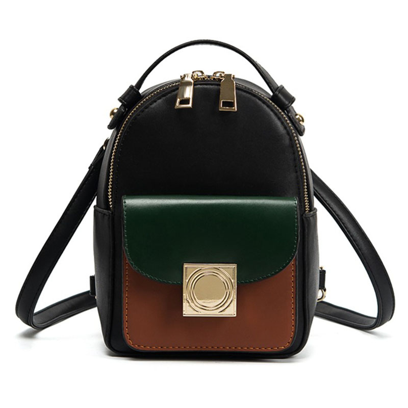 Women Backpack Black Mini Rucksack Fashion High Quality PU Leather Backpacks For Teenage Girls Shoulder Bags mochila New XA921H meike mk 950 mark ii ttl slave wireless flashgun speedlite flashlight for nikon