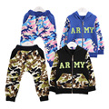 Anlencool 2017 Baby Clothing Active Cotton Real Broadcloth Coat Baby Girl Clothes Roupas Meninos New Spring Korean Boy Suit