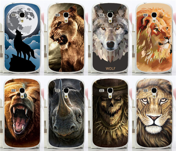 Cooling Case For Samsung Galaxy S3 : Cool ferocious tiger lion wolf bear hood s mini painted