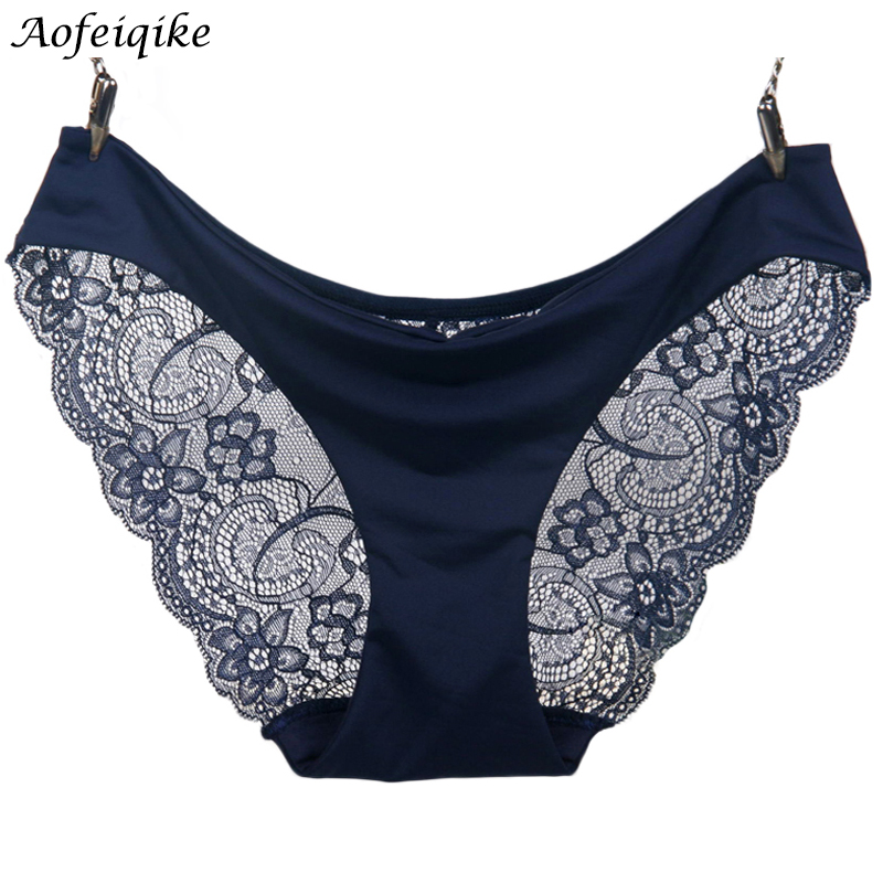 2016 New arrival women's sexy lace panties seamless panty briefs underwear intimates free shipping