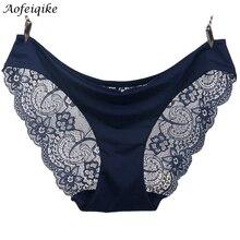 2016 Новых прибытия женщин сексуальные кружева трусики бесшовные трусики трусы underwear intimates бесплатная доставка