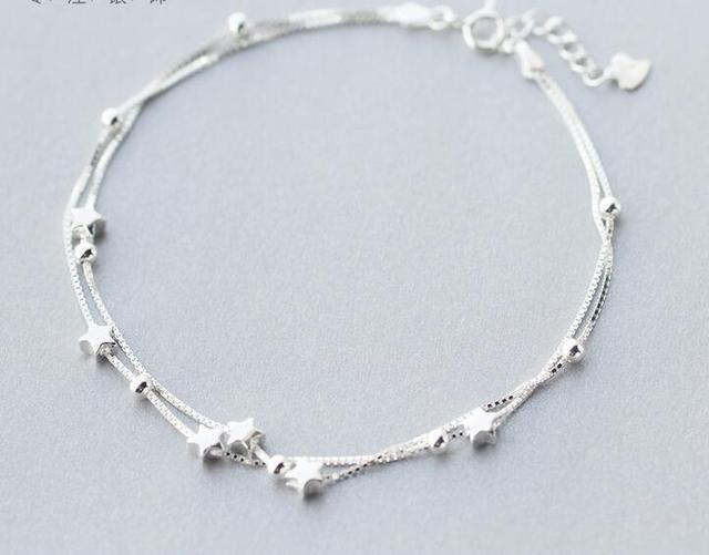 Two-Layers Anklet