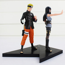 Naruto Uzumaki Naruto + Hyuga Hinata PVC Toy