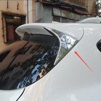 ABS Chrome Rear 창 Trim On The Tail 스팽글 장식이 함께한 Triangle 핏 대 한 Mazda CX-5 CX 5 2013 2014 2015 차 스타일링 액세서리