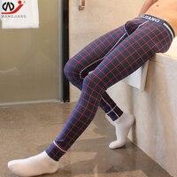 Термобелье зимние теплые штаны мужские кальсоны хлопок с принтом ТЕРМО леггинсы спандекс Колготки и леггинсы одежда для мужчин